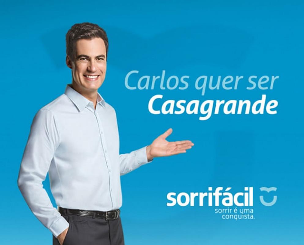 Carlos quer  ser Casagrande