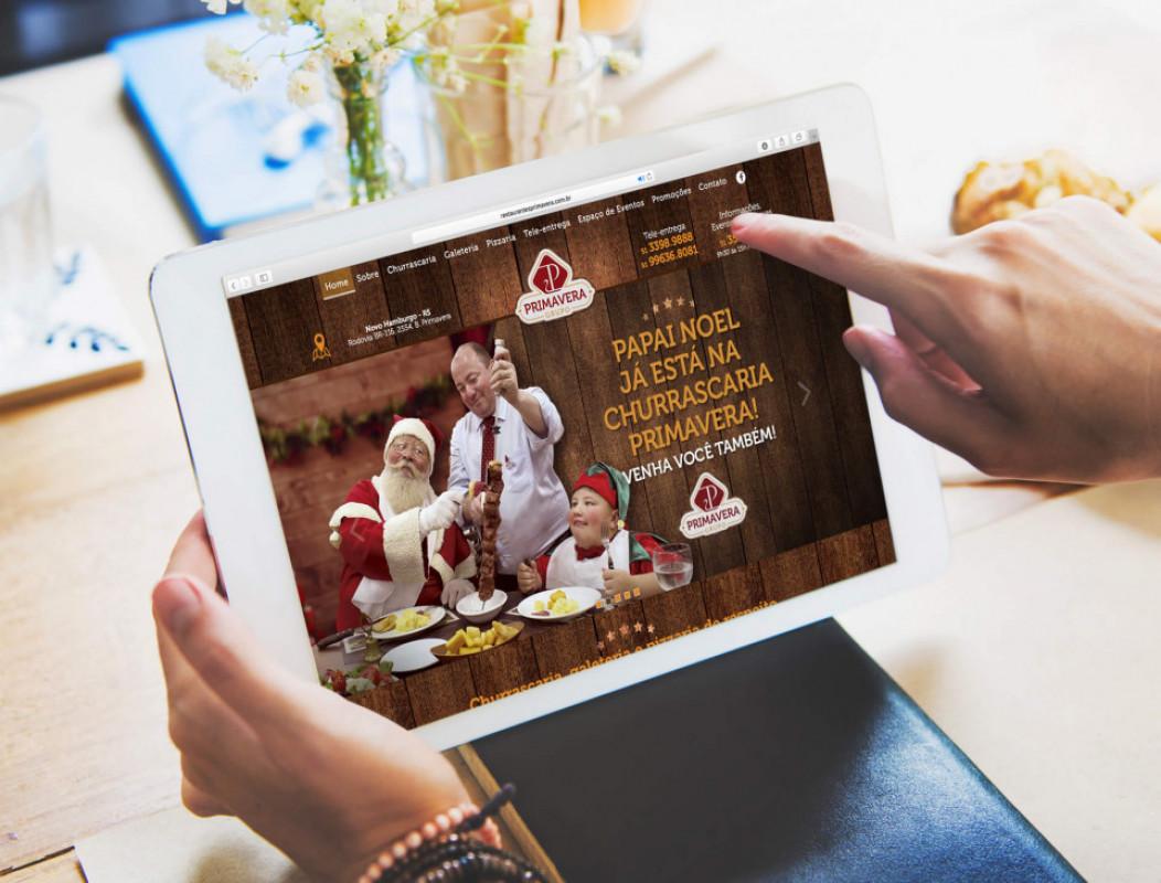 Site Restaurante Primavera